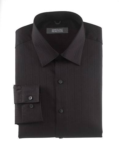 Kenneth Cole Reaction Premium Collection Shirt-BLACK-17.5-32/33