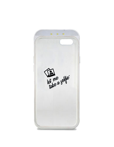 Lmnt Selfie Flash iPhone 6 Case-WHITE-One Size