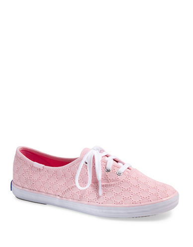 cd1ef9177cde5 UPC 044214396030 - Keds Champion Eyelet Sneakers-PINK-8.5 ...
