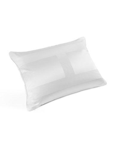 Hotel Collection Frame Quilted Standard Pillow Sham-WHITE-Euro