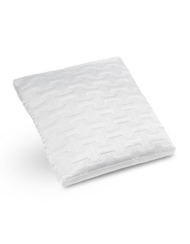 Hotel Collection Frame Quilted Euro Pillow Sham-WHITE-Queen