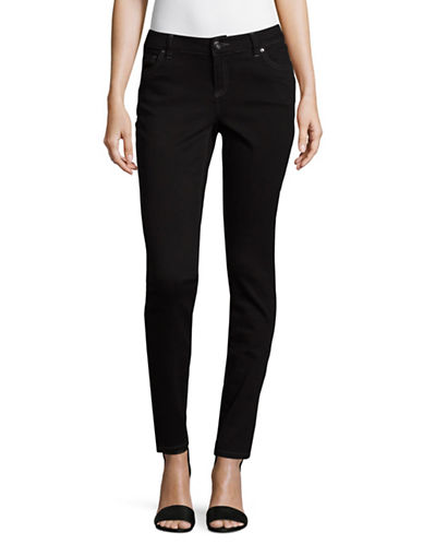 I.N.C International Concepts Five-Pocket Skinny Jeans-BLACK-6