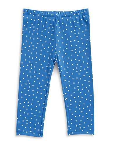First Impressions Tiny Dot Leggings-BLUE-24 Months
