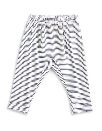 First Impressions Stripe Harem Pants-BEIGE-12 Months