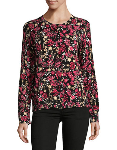 Karen Scott Petite Reverie Cardigan-BLACK-XX-Large