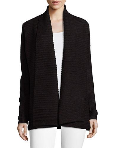 Karen Scott Ottoman Shawl Cardigan-BLACK-Small 89399184_BLACK_Small