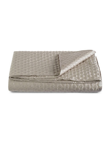 Hotel Collection Dimensions Quilted Coverlet-BROWN-King