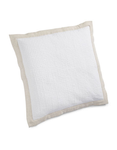 Hotel Collection Linen Euro Pillow Sham-NATURAL-One Size