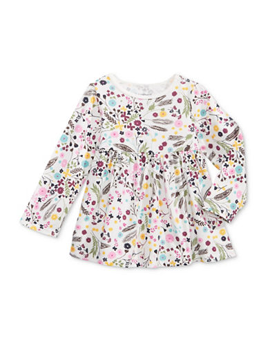 First Impressions Floral AO Tunic-WHITE-18 Months