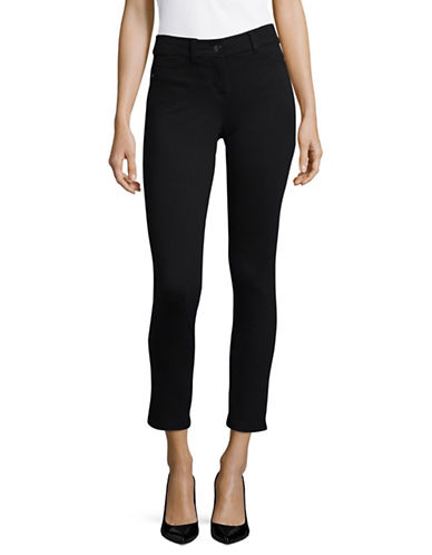 Style And Co. Petite Solid Jeggings-BLACK-Petite 10