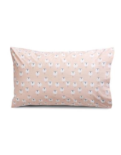 Martha Stewart Whim 200 PR Cotton Standard Pillowcases-PINK-King