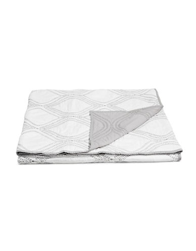 Martha Stewart Gramercy Gate Duvet-GREY-Queen