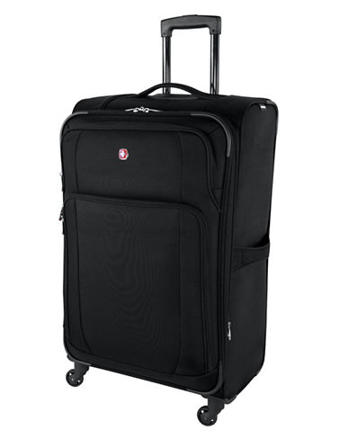 Swiss Wenger Microlite Collection 28-Inch Softside Spinner-BLACK-28