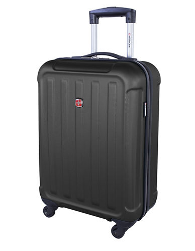 Swiss Wenger Le Luisin Collection 20-Inch Hardside Spinner-CHARCOAL-20