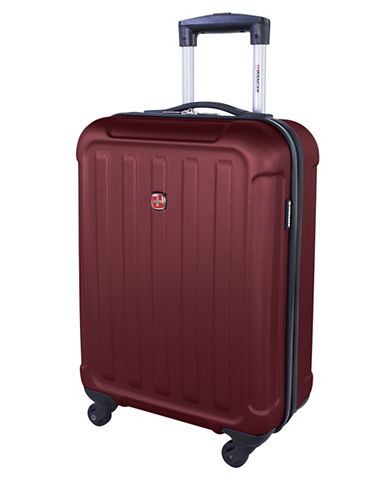 Swiss Wenger Le Luisin Collection 20-Inch Hardside Spinner-RED-20
