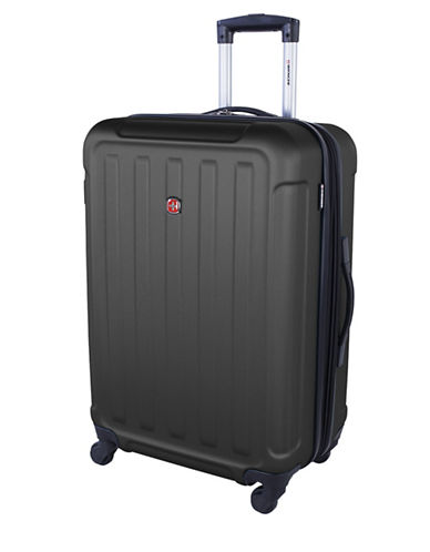 Swiss Wenger Le Luisin Collection 24-Inch Hardside Spinner-CHARCOAL-24
