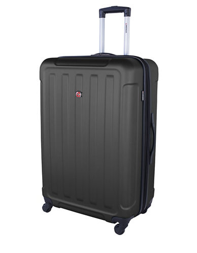 Swiss Wenger Le Luisin Collection 28-Inch Hardside Spinner-CHARCOAL-28