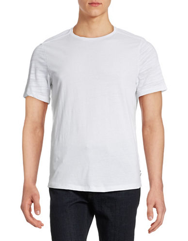 Howe Contrast Sleeve T-Shirt-WHITE-Small 88362418_WHITE_Small