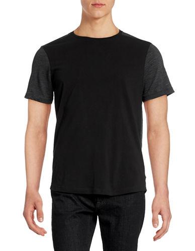 Howe Contrast Sleeve T-Shirt-BLACK-Medium 88362431_BLACK_Medium