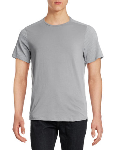 Howe Contrast Sleeve T-Shirt-GREY-Large 88362416_GREY_Large