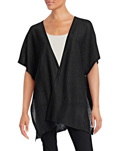 Echo Shimmer Poolboy Cover-Up-BLACK-One Size