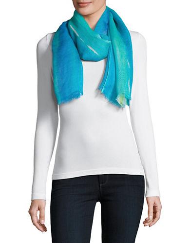 Lauren Ralph Lauren Ombre Wrap-BLUE-One Size