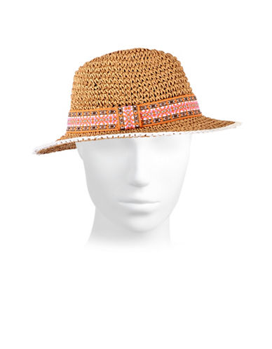 Echo Crochet Hat-ORANGE-One Size