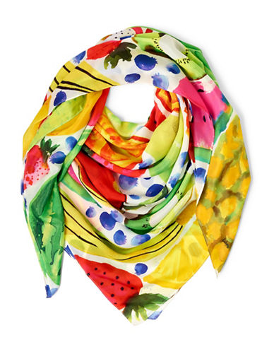 Echo Tutti Frutti Square Scarf-MULTI-One Size