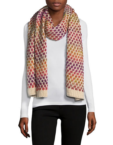 Echo Rainbow Space-Dyed Scarf-MULTI-One Size