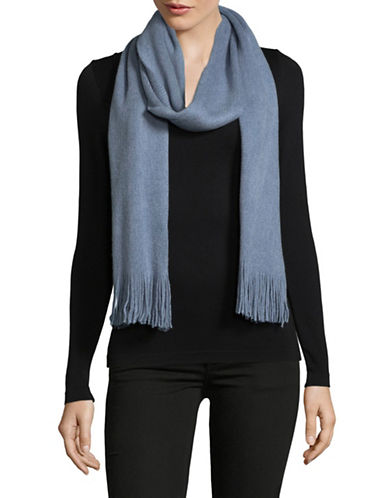 Echo Fringe Milk Muffler-CHAMBRAY-One Size