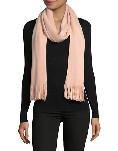Echo Fringe Milk Muffler-BLUSH-One Size