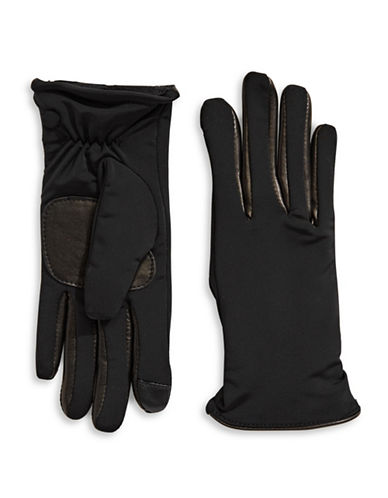 Echo Metallic Active-Fit Gloves-BLACK-Small