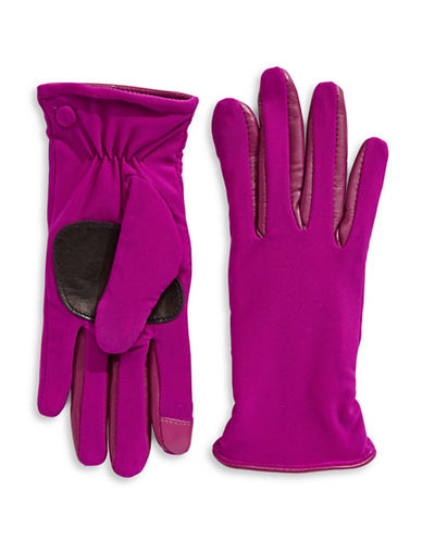 Echo Metallic Active-Fit Gloves-FUCHSIA-Small