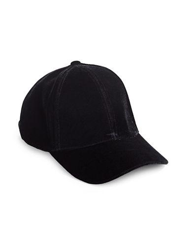 Echo Velvet Cap-BLACK-One Size