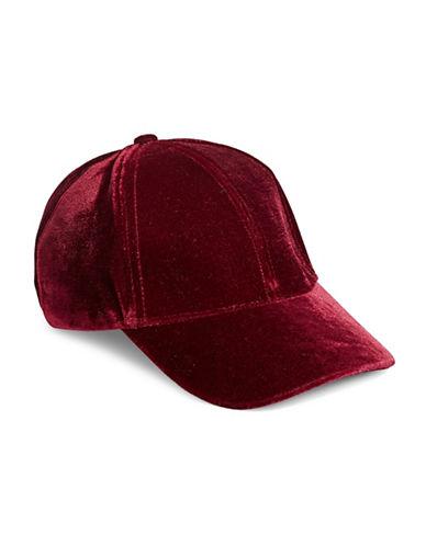 Echo Velvet Cap-RED-One Size