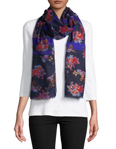 Echo Bermondsey Floral Scarf-MULTI-One Size