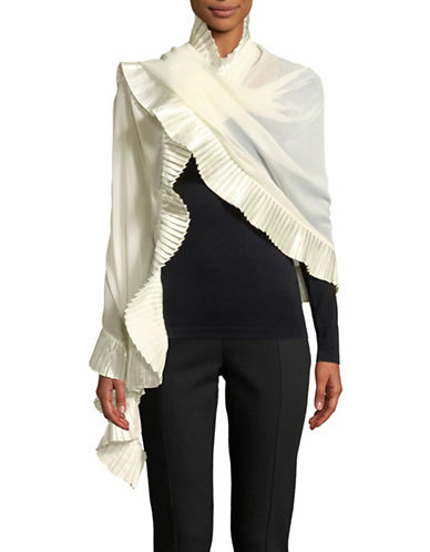 Echo Accordion Pleated Scarf-MARSHMALL-One Size