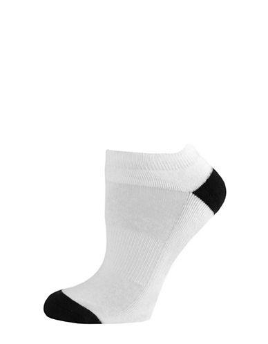 Sockart Not So Basic Ankle Socks-WHITE-9-11