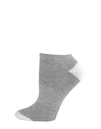 Sockart Fries Before Guys Ankle Socks-GREY-9-11