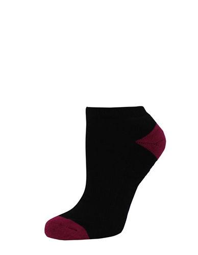 Sockart Womens But First Wine Socks-BLACK-9-11