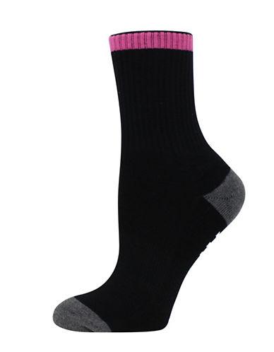 Sockart Babe Magnet Socks-BLACK-9-11