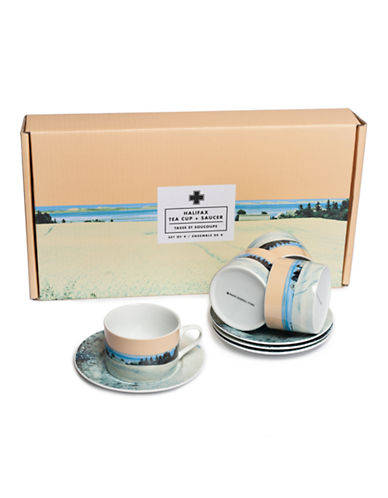 Drake General Store Set of Eight Halifax Cups and Saucers 87879559