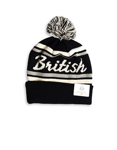 Drake General Store British Columbia Provincial Pom-Pom Knit Tuque-MULTI-One Size