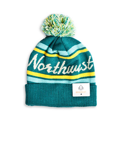 Drake General Store NWT Provincial Pom-Pom Knit Tuque-MULTI-One Size