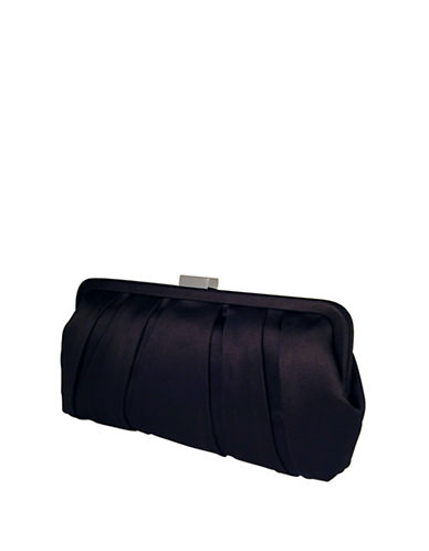 Nina Logan Evening Bag Clutch-BLACK-One Size