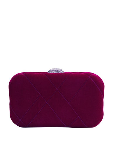 Nina Barlow Mini Clutch-PINK-One Size