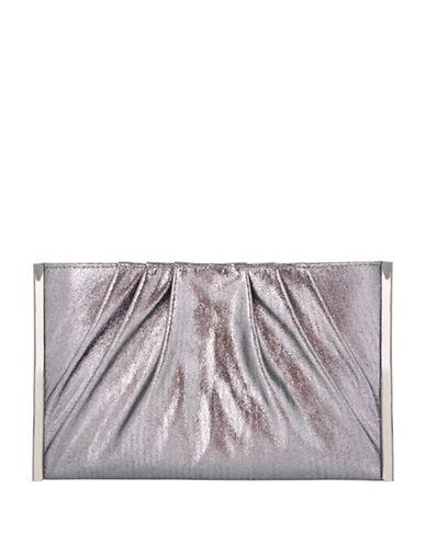 Nina Glimmering Lalette Wristlet-GREY-One Size