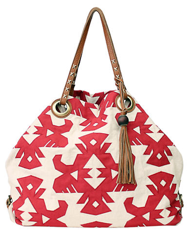 Lucky Brand Covina Tote-CAYENNE-One Size