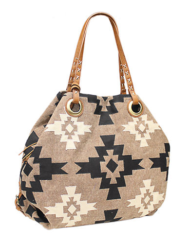Lucky Brand Nina Top Handle Tote-COGNAC-One Size