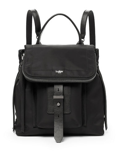 Botkier New York Warren Backpack-BLACK-One Size